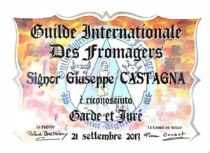 Guide Internationale Des Fromagers | Giuseppe Castagna